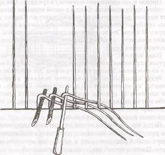 Начало плетения косы