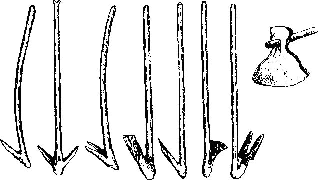орудия труда древних людей картинки мотыга